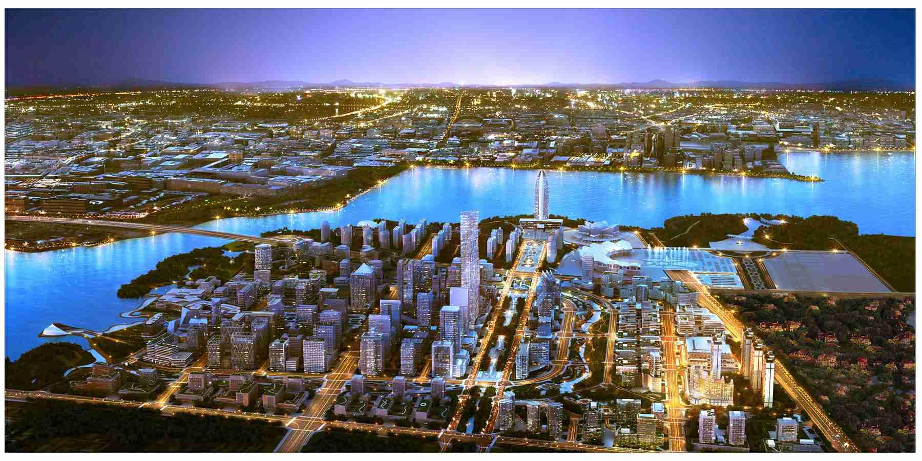 阅�_集团已在银川阅海湾中央商务区投资建设了酒店等项目