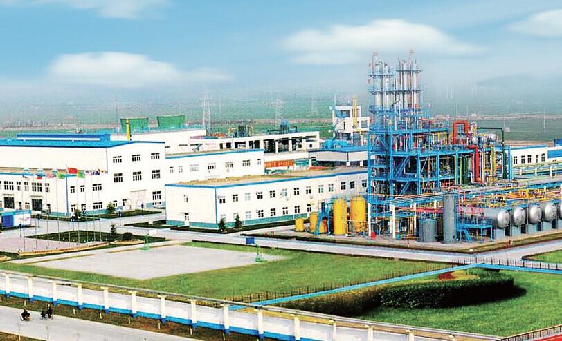 东岳氟硅材料公司厂区