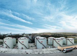 新疆万基公司油库