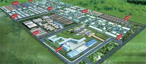 东岳千亿级氟硅材料产业园区
